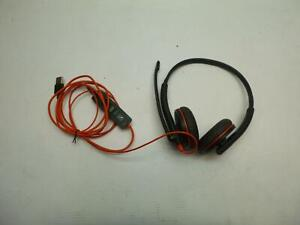 lot x3 Plantronics Various models USB headsets#