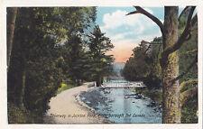 Driveway Jackson Park PETERBOROUGH Ontario Canada 1925 Valentine-Black Postcard
