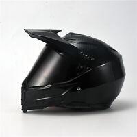 DOT Carbon Fiber Offroad Helmet Motorcycle Motocross Helmet Full Face Sun Visor
