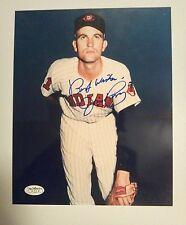 Jim Perry Autograph 8x10 Photo  Indians   JSA   Signed  Auto