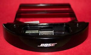 Bose Sounddock Series 1 30 Pin Connector Black  w/ Bracket etc 282490-001