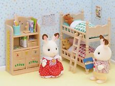 Sylvanian Families Set Room Furniture of Toy Children Girls Beds Cupboard