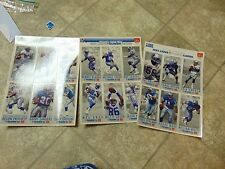 BASEBALL STYLE CARD SET OF 18 MCDONALDS LIMITED EDITION NFL FOOTBALL GAME DAY 93