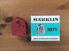 Märklin Metall Elektromotor Nr. 1071 OVP