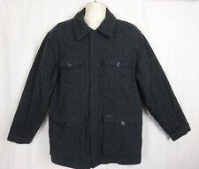 Chaps Ralph Lauren Charcoal Gray Wool Blend Field/ Hunting Jacket ~ Men's ~ M