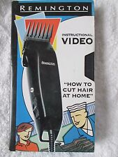 How To cut Hair At Home - Remington Instructional Video