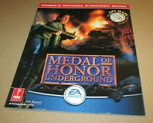 Medal of Honor: Underground Strategy Guide for Playstation PS1