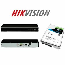 Hikvision NVR Recorder DS-7608NI-K2 (Non-PoE Model) + HDD