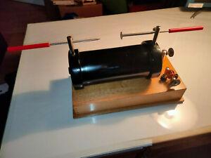 "+ + Großer Funkeninduktor + + Hochspannung !!! Physik Tesla ""Made in GDR"""