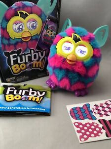 Furby Boom In Original Box With Stickers & Instructions Hard To Find