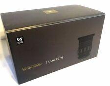 New Voigtlander NOKTON 17.5mm f0.95 Lens - Micro Four Thirds Mount - COSINA