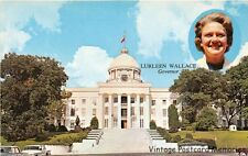 MONTGOMERY AL 1967 Alabama State Capitol Building with Gov Lurleen Wallace GEM++