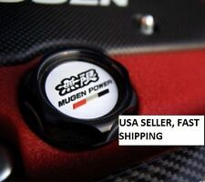 NEW JDM UNIVERSAL BLACK MUGEN Oil Cap Cover HONDA ACURA Integra MDX Civic ACCORD