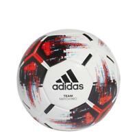 adidas Team Match Ball Gr.5 - weiß/schwarz/rot