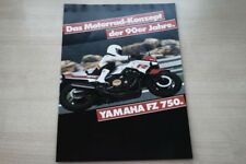 196876) Yamaha FZ 750 Prospekt 198?