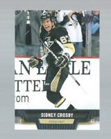 SIDNEY CROSBY UPPER DECK SERIES ONE HOCKEY CARD