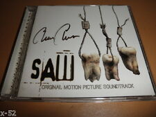 SAW 3 III soundtrack SIGNED cd CHARLIE CLOUSER / slayer helmet ministry mastodon