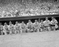 YANKEES STARTERS LEFTY GOMEZ ,GORDON, DICKEY, JOE DIMAGGIO, RUFFING & MORE 8x10