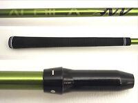 Ping Anser/G25/I25 Aldila Green NV55 STIFF Driver Shaft+sleeve adapter plays46IN