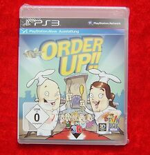 Order Up!! Move Ausstattung, PS3, PlayStation 3 Spiel, Neu, deutsche Version