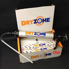DRYZONE 600ml FOIL TUBE x2 + App Gun DAMP PROOF CREAM for rising damp treatment