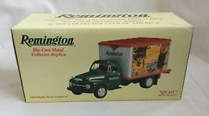 REMINGTON Ford 1951 Diecast QUAIL DELIVERY TRUCK 1994 FIRST GEAR 1:34 NIB