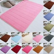 Absorbent Non-slip Bath Mats Memory Foam Bathroom Floor Shower Soft Rugs New