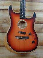 Fender® American Acoustasonic Stratocaster Acoustic Electric 3-Color Sunburst