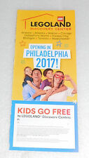 Legoland Discovery Center US Canada Kids Go Free On-line Ticket Booth  2/28/2018