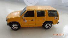 CORGI Size Toy Car Model MATCHBOX Mattel 97 Chevy Tahoe CHEVROLET SUV monocorps Van