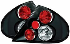 Ford Mondeo (1996-2000) Clear Lens Black Rear Back Tail Lexus Lights Lamp - Pair