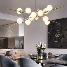Glass Chandelier Lighting Kitchen Pendant Light Modern Ceiling Lights Gold Lamp