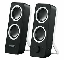 Logitech Multimedia Speakers Z200 with Stereo Sound for Multiple Devices - Bl...