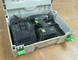 Festool T15 Cordless Drill in Systainer 1