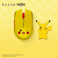 NEW Razer Atheris 2.4G Bluetooth Wireless Gaming Mouse Pokemon Pikachu Edition