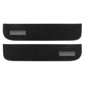Lund 120001 Pro-Line Lower Door Panel Carpet Black Set of 2 fits Chevy & GMC