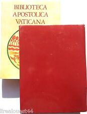 Biblioteca apostolica Vaticana Ediciones Encuentro en espanol 1987