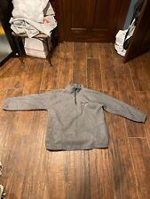 90s Polo Sport Spell Out Quarter Zip Sweatshirt Ralph Lauren VTG 90s 2XL Gray