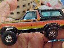 Vintage Hot Wheels Blackwall Ford Bronco