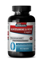 Healthy Joint Function - Glucosamine & MSM Complex 3232mg - Collagen Drink 1B