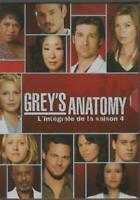 Série Grey's Anatomy Saison 4 Dvd