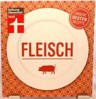 Fleisch + Kochbuch + Unsere besten Rezepte + Stiftung Warentest + Kreative Ideen