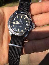 Vintage Venus Marinetimer Submariner Style Mens Diver Watch ( ETA 2783 )