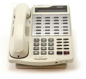 Fully Refurbished Vodavi Infinite DVX II IN-9015-08 Speaker Display Phone Almond