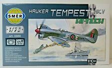 SMER Hawker Tempest MK.V,Royal Air Force,Bausatz 1:72,0888,50 Teile, OVP, NEU