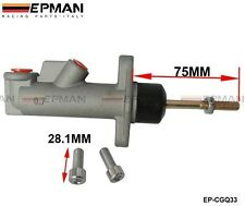 "Brake Clutch Master Cylinder 0.7"" Universal Heavy Duty Hydraulic Handbrake Brake"