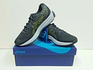 asics GEL-CUMULUS 22 Men's Running Shoes Size 9 (Grey/Lime) NEW