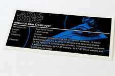 Lego Star Wars UCS Sticker für Imperial Star Destroyer (75055/10030)