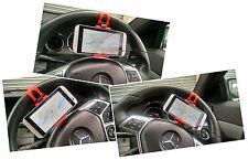 Egadget coche volante teléfono celular móvil soporte montaje Htc One M8 Iphone Etc