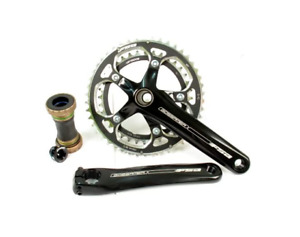 New FSA Gossamer Road Bike Crankset 10 Speed 172.5mm 53/39T MegaExo BB Included